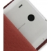 HTC Hero Leather Flip Case (Red Croc Pattern) handmade leather case by PDair