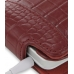 HTC Hero Leather Flip Case (Red Croc Pattern) top quality leather case by PDair