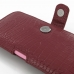 iPhone 6 6s Plus (in Slim Cover) Holster Case (Red Croc Pattern) genuine leather case by PDair