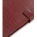 iPad 3G Leather Flip Carry Cover (Red Croc) genuine leather case by PDair