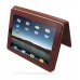iPad 3G Leather Flip Carry Cover (Red Croc) top quality leather case by PDair