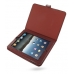 iPad 3G Leather Flip Carry Cover (Red Croc) offers worldwide free shipping by PDair