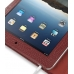 iPad 3G Leather Book Stand Case (Red Croc) Ver.3 handmade leather case by PDair