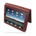 iPad 3G Leather Book Stand Case (Red Croc) Ver.3 top quality leather case by PDair