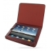 iPad 3G Leather Book Stand Case (Red Croc) Ver.3 offers worldwide free shipping by PDair