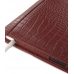iPad 2 3 4 Leather Flip Carry Cover (Red Croc) protective carrying case by PDair