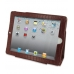 iPad 2 3 4 Leather Flip Carry Cover (Red Croc) custom degsined carrying case by PDair