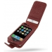 iPhone 3G 3Gs Leather Flip Case (Red Croc Pattern) offers worldwide free shipping by PDair