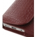 MacBook Air 11 Leather Pouch Case Ver.2 (Red Croc Pattern) handmade leather case by PDair