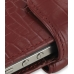 iPhone 4 4s Leather Holster Case (Red Croc Pattern) handmade leather case by PDair