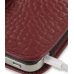 iPhone 4 4s Leather Holster Case (Red Croc Pattern) genuine leather case by PDair