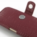 iPhone 6 6s Leather Holster Case (Red Croc Pattern) genuine leather case by PDair