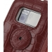 Nokia N97 Leather Flip Case (Red Croc Pattern) protective carrying case by PDair