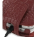 Nokia N97 Leather Flip Case (Red Croc Pattern) handmade leather case by PDair