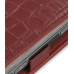 Nokia N97 Leather Flip Case (Red Croc Pattern) genuine leather case by PDair