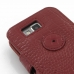 Samsung Ativ S Leather Flip Cover (Red Croc) handmade leather case by PDair