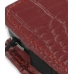 Samsung Omnia i908 i900 Pouch Case with Belt Clip (Red Croc Pattern) top quality leather case by PDair