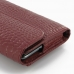 Samsung Galaxy Note Leather Sleeve Pouch (Red Croc Pattern) protective carrying case by PDair