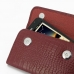 Samsung Galaxy Note Leather Sleeve Pouch (Red Croc Pattern) handmade leather case by PDair