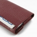 Samsung Galaxy Note Leather Sleeve Pouch (Red Croc Pattern) genuine leather case by PDair