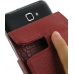 Samsung Galaxy Note Leather Flip Case (Red Croc Pattern) handmade leather case by PDair
