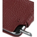 Samsung Galaxy Note Leather Flip Case (Red Croc Pattern) top quality leather case by PDair