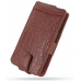 Samsung Galaxy S2 Leather Flip Case (Red Croc Pattern) offers worldwide free shipping by PDair