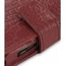 Samsung i8000 Omnia II Leather Flip Cover (Red Croc) handmade leather case by PDair