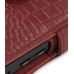 Samsung i8000 Omnia II Leather Flip Cover (Red Croc) top quality leather case by PDair