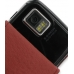 Samsung i8000 Omnia II Leather Flip Case (Red Croc Pattern) handmade leather case by PDair
