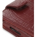 Samsung i8000 Omnia II Leather Flip Case (Red Croc Pattern) genuine leather case by PDair
