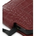 Samsung i8000 Omnia II Leather Flip Case (Red Croc Pattern) top quality leather case by PDair