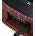 Samsung Google Nexus S Leather Flip Cover (Red Croc) handmade leather case by PDair