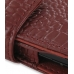 Samsung Google Nexus S Leather Flip Cover (Red Croc) genuine leather case by PDair