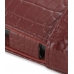 Samsung OMNIA 7 Leather Flip Cover (Red Croc) top quality leather case by PDair