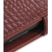 Samsung OMNIA 7 Leather Flip Cover (Red Croc) custom degsined carrying case by PDair