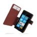 Samsung OMNIA 7 Leather Flip Cover (Red Croc) offers worldwide free shipping by PDair