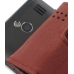 Samsung OMNIA 7 Leather Flip Case (Red Croc Pattern) handmade leather case by PDair