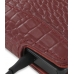 Samsung OMNIA 7 Leather Flip Case (Red Croc Pattern) genuine leather case by PDair