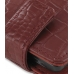 Samsung OMNIA 7 Leather Flip Case (Red Croc Pattern) top quality leather case by PDair
