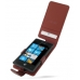 Samsung OMNIA 7 Leather Flip Case (Red Croc Pattern) offers worldwide free shipping by PDair
