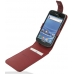 Samsung Galaxy S2 T989 Leather Flip Top Case (Red Croc Pattern) custom degsined carrying case by PDair