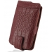 Samsung Galaxy xCcover Leather Flip Case (Red Croc Pattern) offers worldwide free shipping by PDair