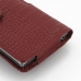 Sony Xperia Z1 Leather Holster Case (Red Croc Pattern) top quality leather case by PDair