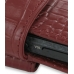 Sony Walkman NWZ-X1050 X1060 X1000 Leather Holster Case (Red Croc) handmade leather case by PDair