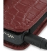 Sony Walkman NWZ-X1050 X1060 X1000 Leather Holster Case (Red Croc) genuine leather case by PDair