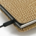 BlackBerry Passport Pouch Pouch Case with Belt Clip (Brown Croc) protective carrying case by PDair