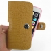 iPhone 6 6s Plus (in Slim Cover) Holster Case (Brown Croc Pattern) top quality leather case by PDair
