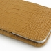 iPhone 6 6s Plus Leather Sleeve Pouch Case (Brown Croc Pattern) handmade leather case by PDair