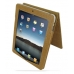 iPad 3G Leather Flip Case (Brown Croc Pattern) top quality leather case by PDair